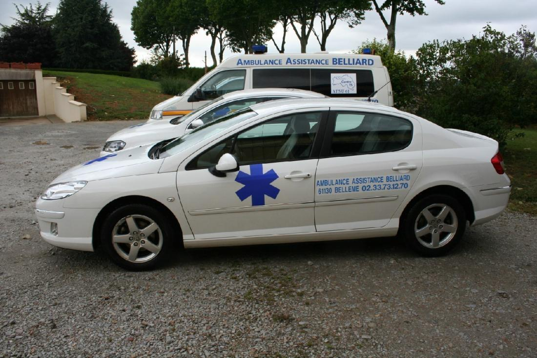 AMBULANCE ASSISTANCE BELLIARD BELLEM